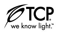 TCP-lighting con texto